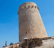 watch tower in Moraira